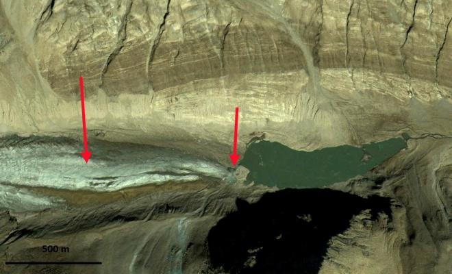chilung glacier terminus