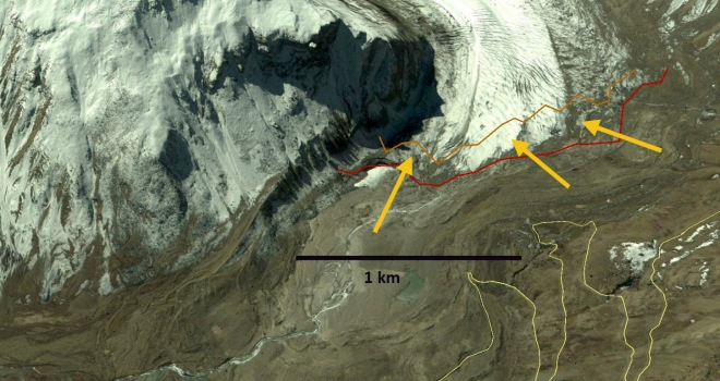 durung drung glacier terminus 2004