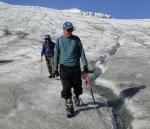 Mauri Pelto on Easton Glacier