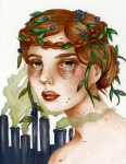 Megan Pelto-Mother Nature's view of greenhouse gases.