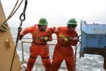 Ben Pelto in Arctic Ocean voyage on USCGC Healey