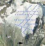 Sholes Glacier measurement network