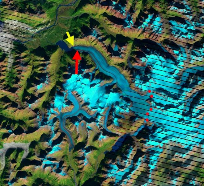 wright glacier 2003