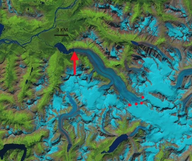 wright glacier 2013