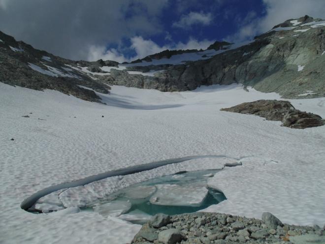ice worm glacier