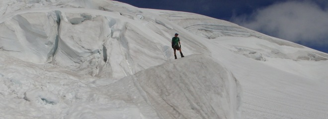 icefall panorama