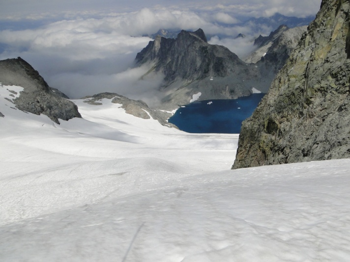lynch glacier downview