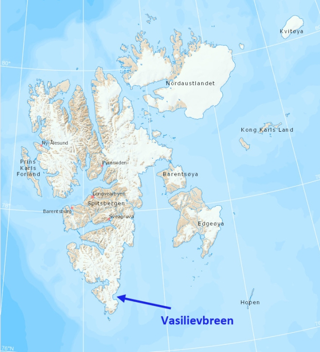 vasilievbreen place