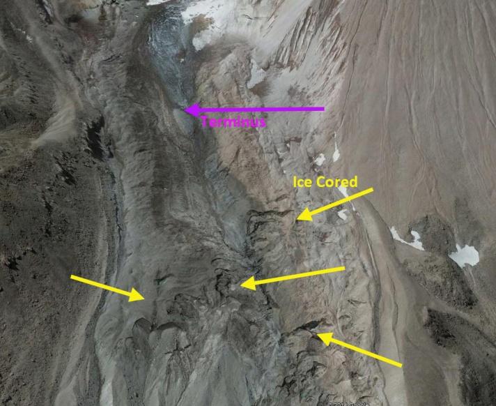 whitney glacier ice core