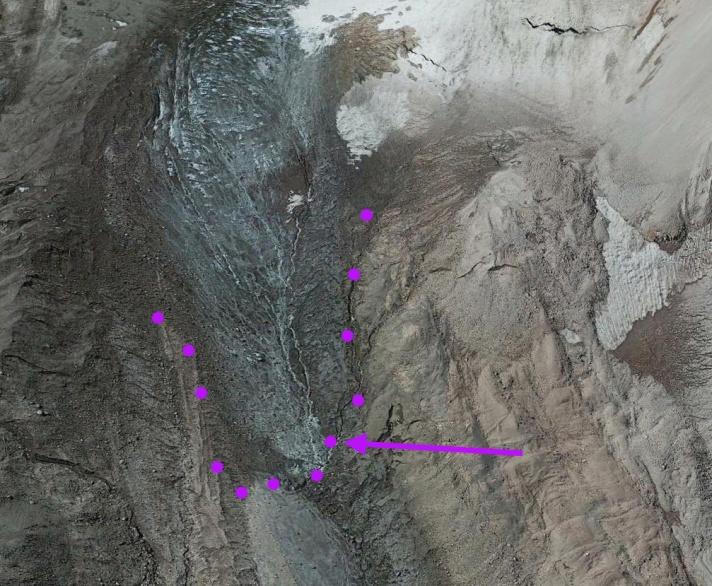 whitney glacier terminus