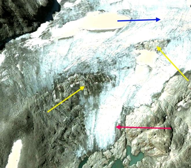 Hochalm glacier ge