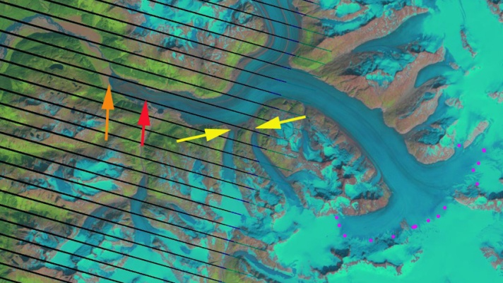 meade glacier 2009