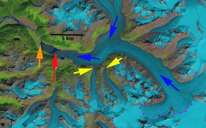 meade glacier 2014