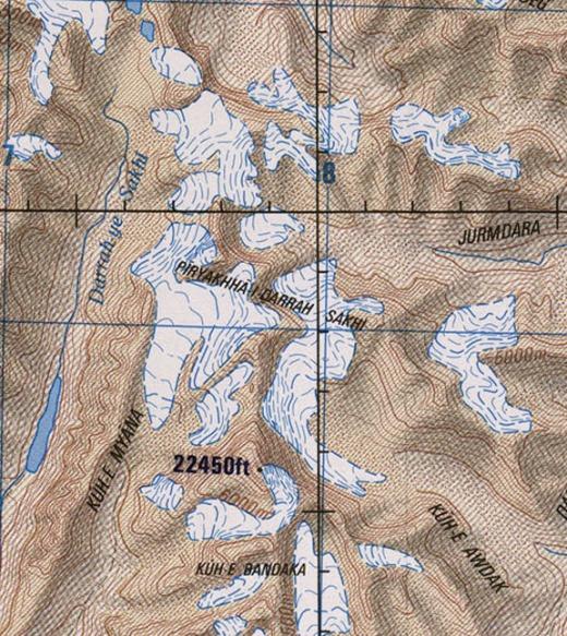 Kuh E Myana map