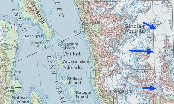 Sinclair Glacier Retreat, Alaska – From a Glaciers Perspective