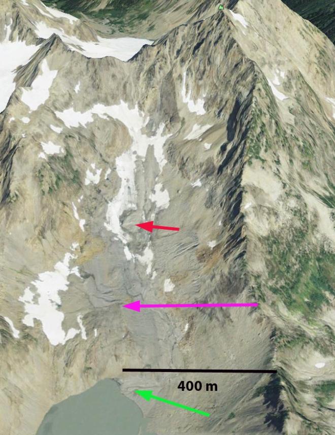 anderson glacier 2009