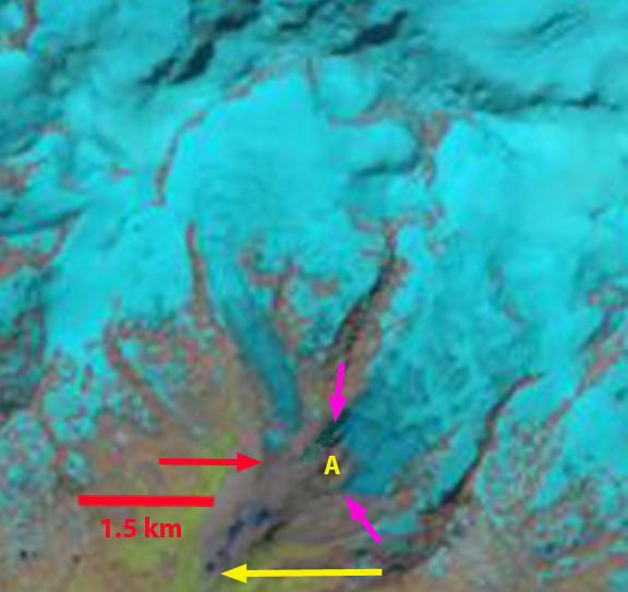 lys glacier 2013