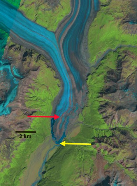 nizina glacier 1990