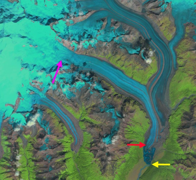 nizina glacier 1999