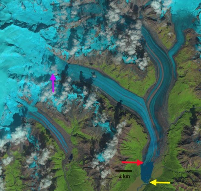 nizina glacier 2014