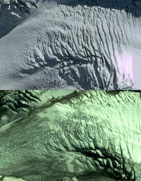 salisbury icefall comparison