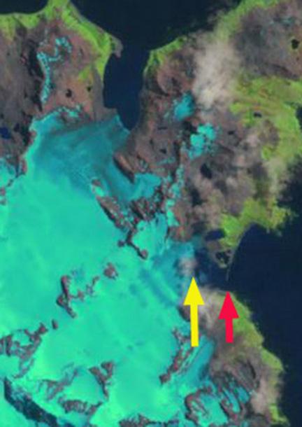 bertrab glacier 2002