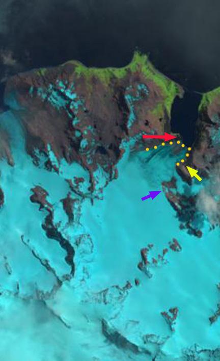 weddel glacier 2015