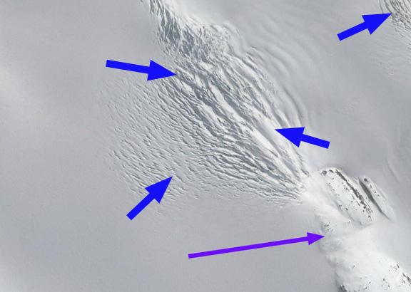 weddel icefall