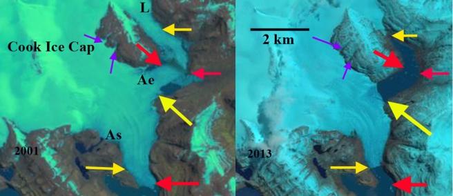 Ampere Glacier Kerguelen Island