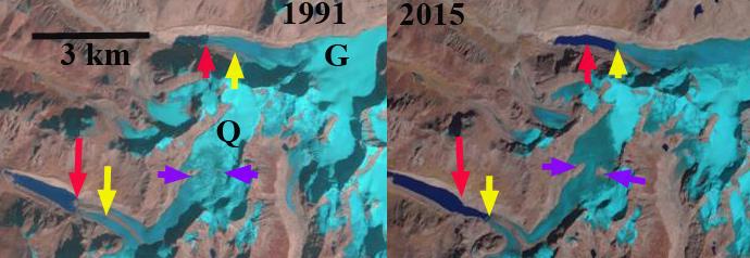Gelhaipuco Glacier, Tibet