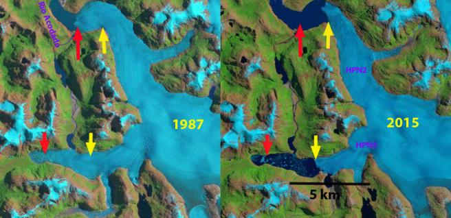 Acodado Glacier, Chile
