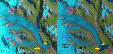 Colonia Glacier, Chile