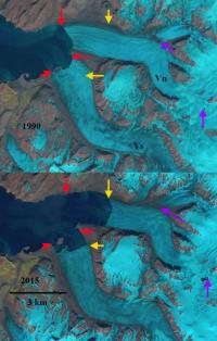 Vilkitskogo Glacier, Novaya Zemlya