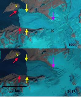 Krivosheina Glacier, Novaya Zemlya