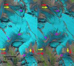 Apex and Shackleton Glacier, BC