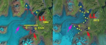 Llewellyn Glacier, BC